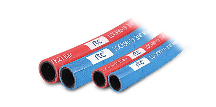 RTC special push to connect hose up to 90°C